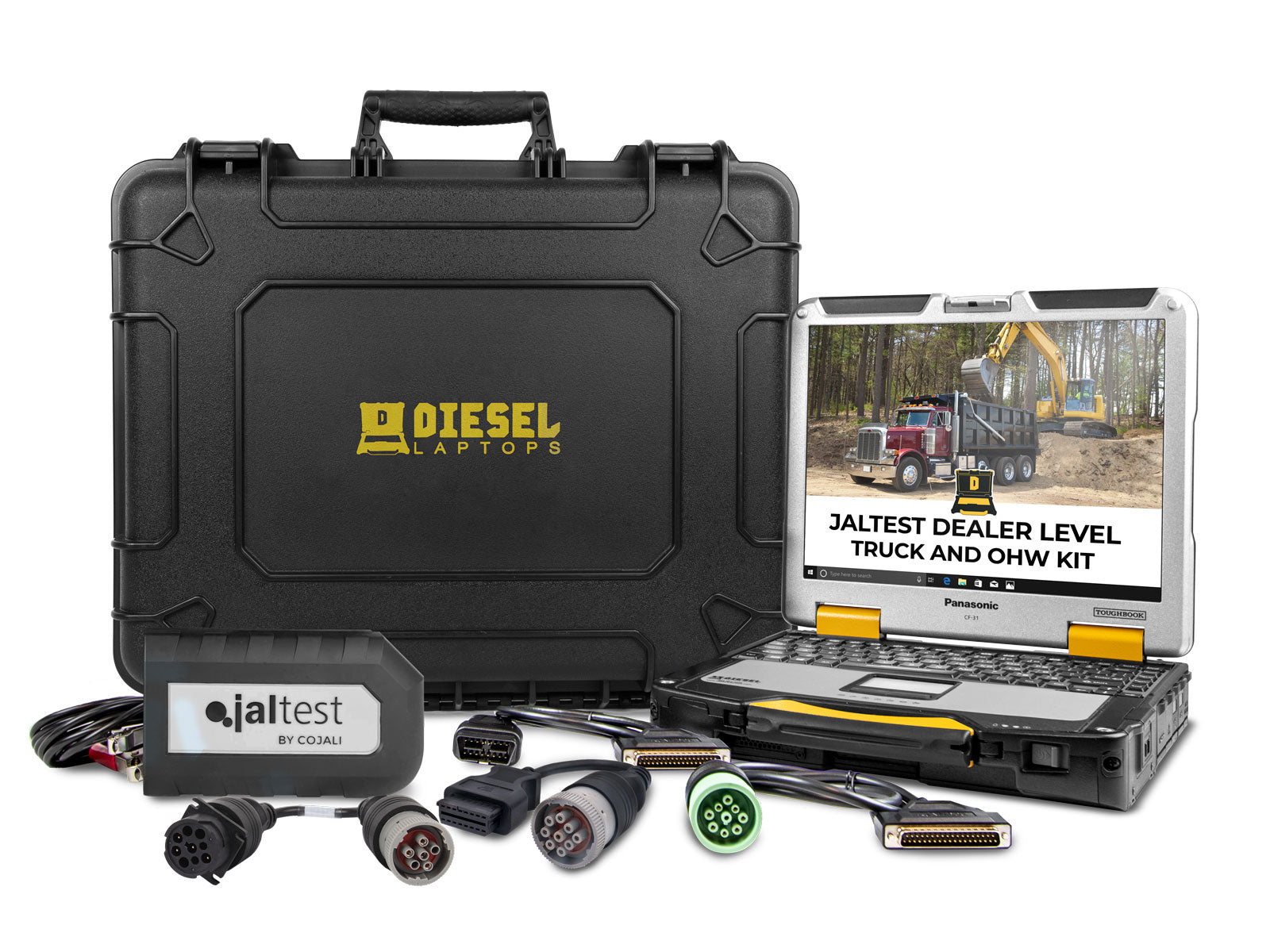 Cojali Jaltest Truck and Off Highway Diagnostic Tool