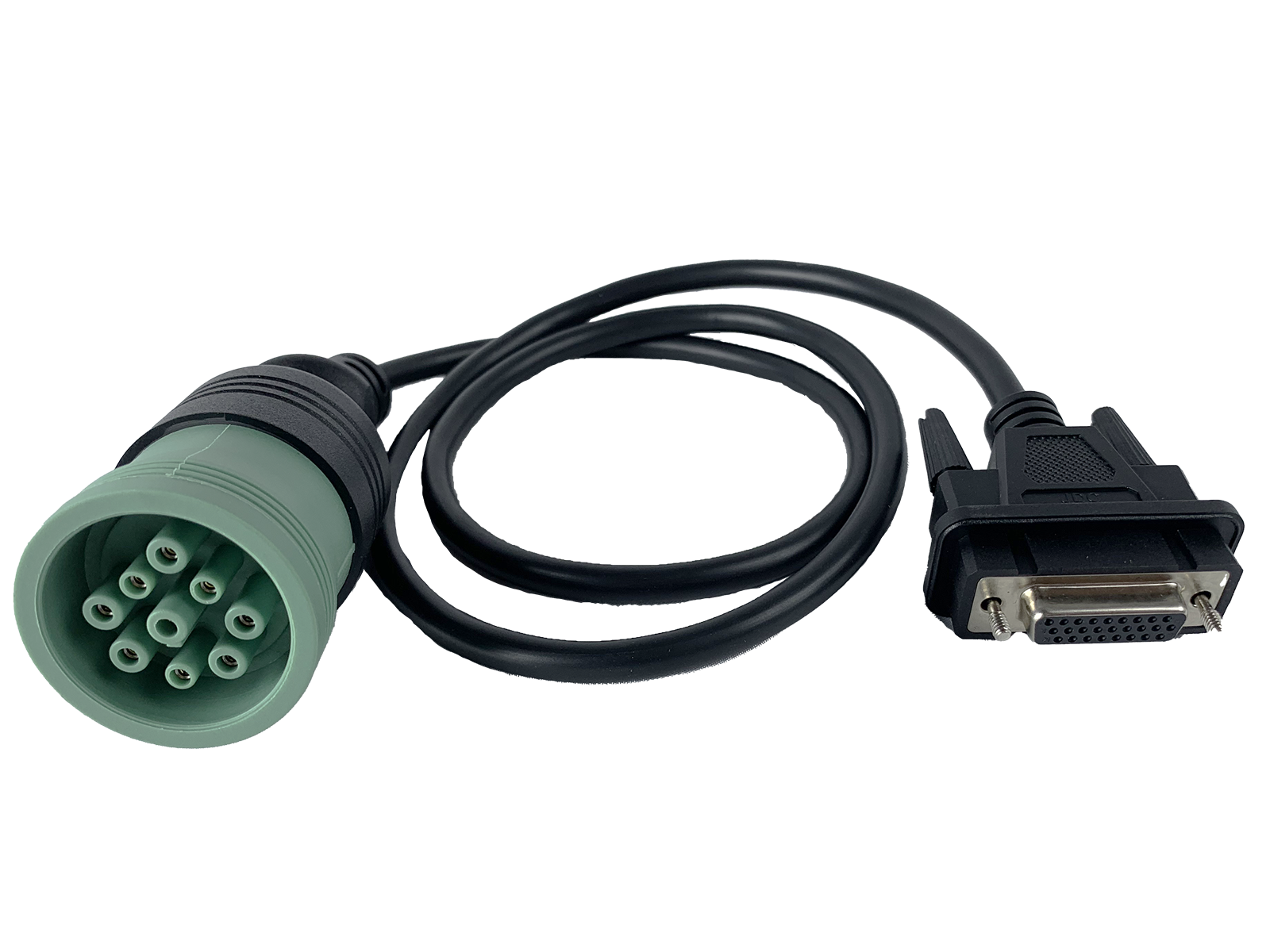 Cojali Jaltest Deutsch 9 Pin Type 2 Green Cable (JDC217.9)