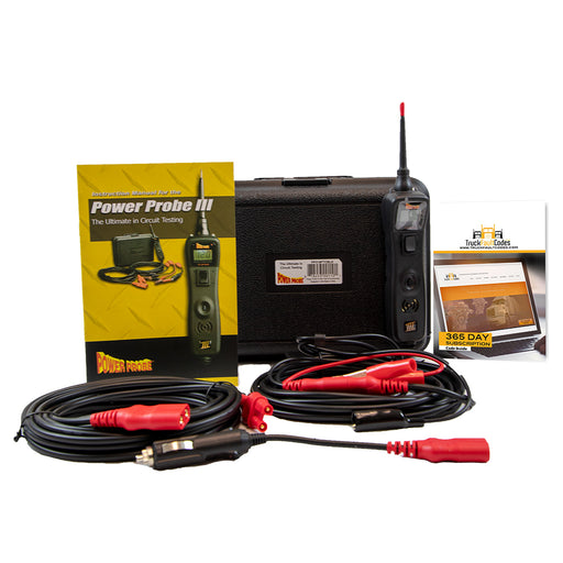 Power Probe 3 (III) Black Circuit Tester with Truck Fault Codes