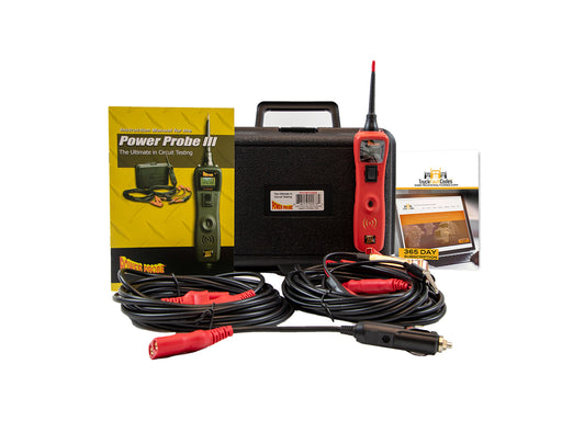 Power Probe 3 (III) Red Circuit Tester with Truck Fault Codes