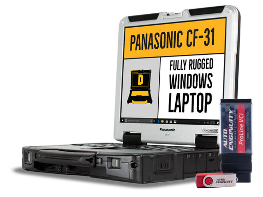AutoEnginuity Domestic Package with CF-31 Laptop