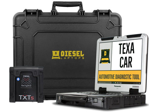 TEXA CAR Automotive Diagnostic Tool with Laptop