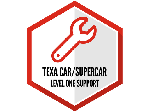 TEXA Car/Supercar Support Level 1 (Basic)