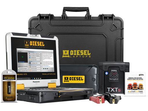 Used TEXA Construction & Off Highway Diagnostic Scanner Laptop Tool