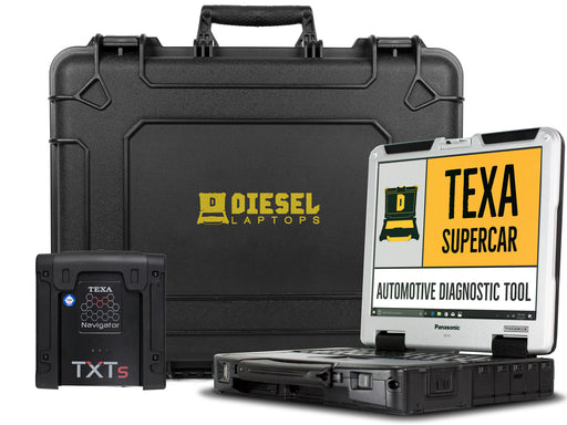 TEXA Supercar Automotive Diagnostic Tool with Laptop