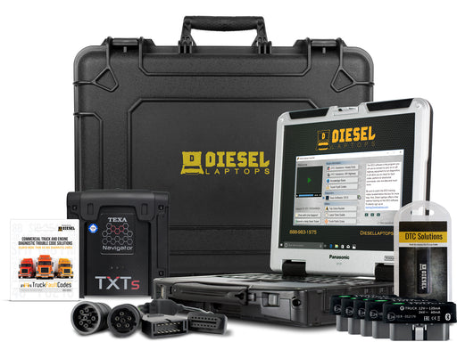 TEXA Dealer Level Truck Diagnostic Scanner Tool with eTruck