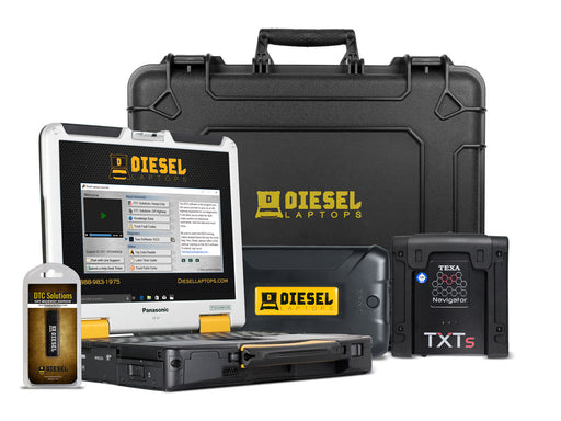 Used TEXA Car, Truck and Off Highway Combo Diagnostic Tool