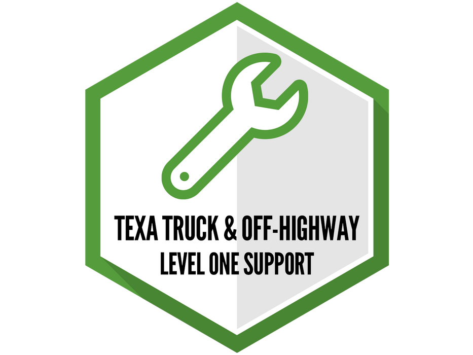 TEXA Truck & Off-Highway Support - Level 1 (Basic)