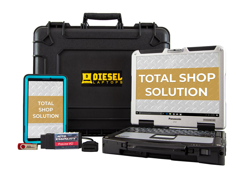 Total Shop Solution Service for Commercial Trucks