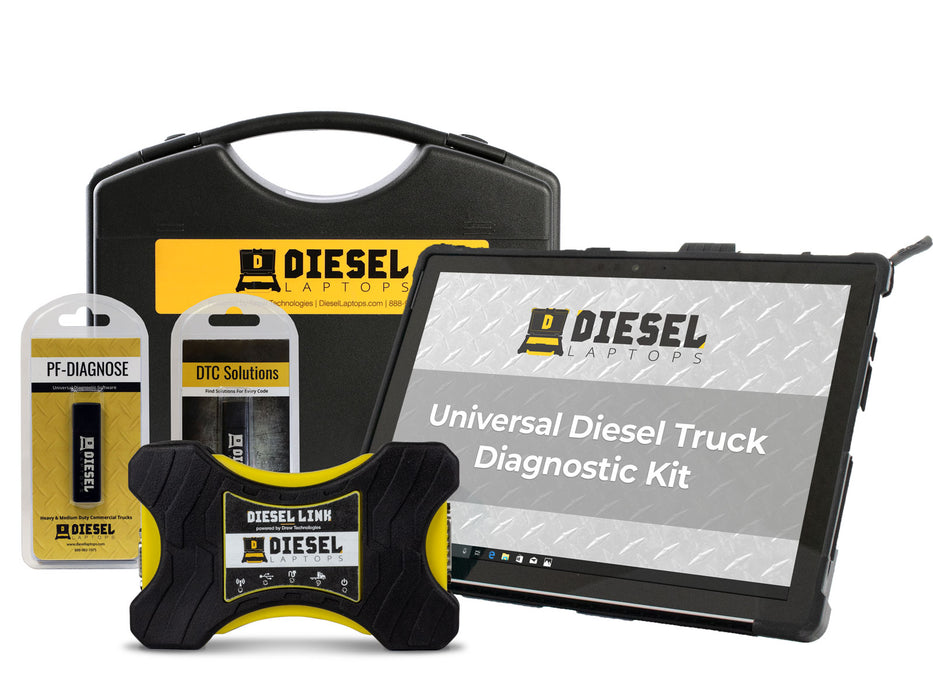 Diesel Laptops Universal Truck Diagnostic Tablet Edition