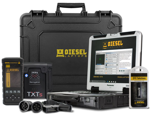 TEXA Dealer Level Truck Kit and Diesel Laptops Handheld Bundle