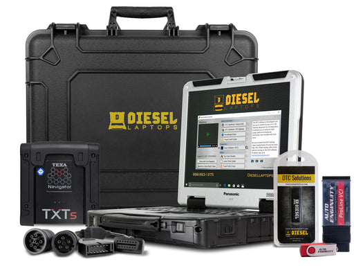 TEXA Dealer Level Truck Kit and AutoEnginuity Bundle