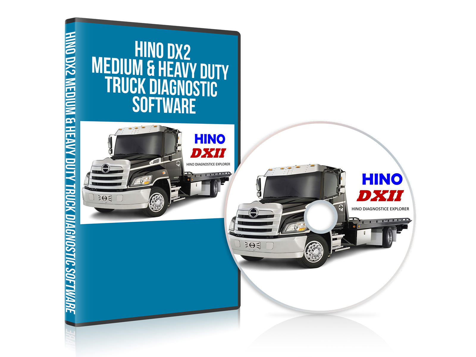 HINO DX2 Medium & Heavy Duty Truck Diagnostic Software
