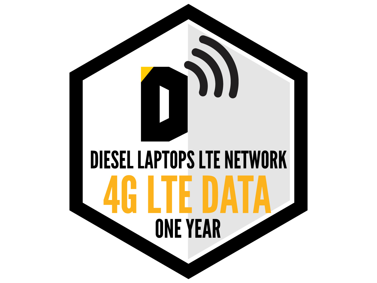 Diesel Laptops LTE Network 4G LTE Unlimited Data 365 Days