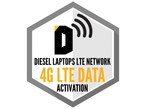 Diesel Laptops LTE Network 4G LTE Unlimited Data Activation