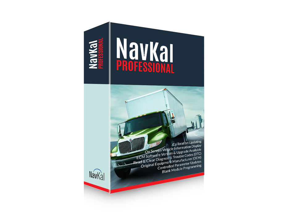 International NavKal ECM Engine Programming Software