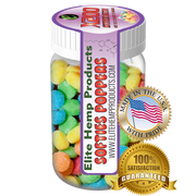 Elite Hemp Gummies - Hemp Infused Gummy Poppers x200 Strength (Classic)