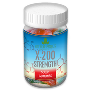 x200 Strength - Elite Gummies - Hemp Infused Sour Gummies