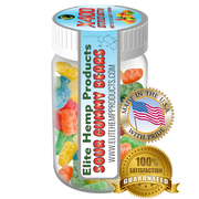 Elite Gummies - Hemp Infused Gummy Bear x400 Strength (Classic)