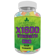 Hemp Supplement Anxiety Calming Sour Gummy - Relieve Stress Anxiety, Inflammation - Improve Mood - Full Plant Extract - 200 MG