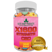 Hemp Supplements Anxiety Calming Sour Gummy - May Relieve Stress Anxiety, Inflammation - Improve Mood - Full Plant Extract - 20 MG Per Gummy