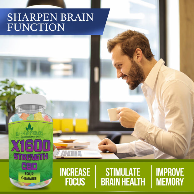 Hemp SHARPEN BRAIN FUNCTION