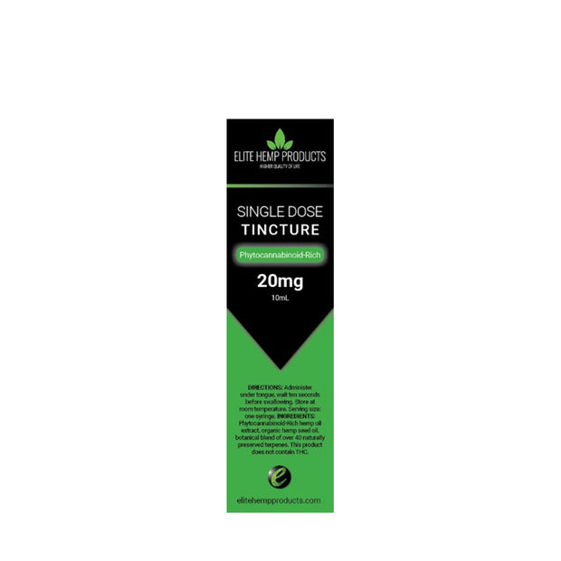 Single Dose Tincture 20 mg