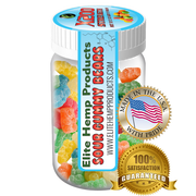 Elite Hemp Gummies - Hemp Infused Gummy Bear x200 Strength (Classic)