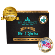 Mint & Spriulina Hemp Oil Soap