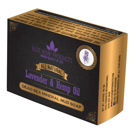 Lavender & Hemp Oil Soap
