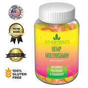Elite Hemp Multivitamin Pina Colada & Strawberry