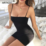 Strapless Spaghetti Strap Bandage Mini Dress Party Casual Basic Beach Dress Short