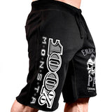 Men Cotton Shorts Men's loose Fitness Bodybuilding Jogger Mens Sweatpants