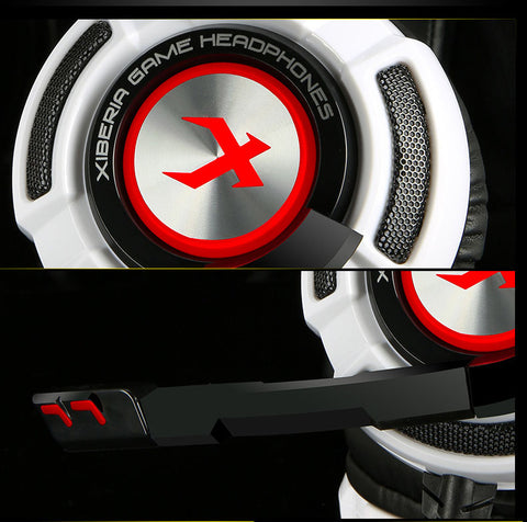 Gaming Headphones -  7.1 Sound Vibration w/ Microphone