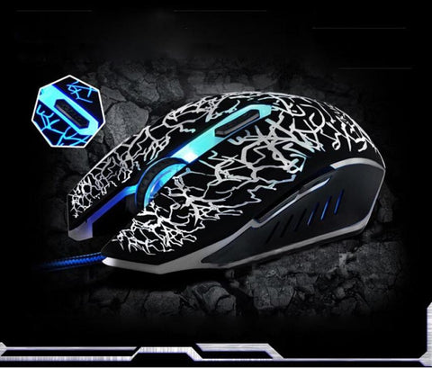 Professional 4000 DPI Optical Wired Gaming Mouse