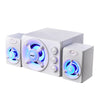 Image of Wired USB Powered Desktop Speakers With Colorful Lights
