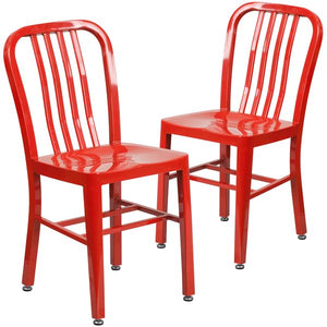 Phineas Metal Dining Chair (Set of 2) by Latitude Run