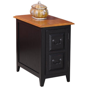 Apple Valley End Table With Storage by Charlton Home