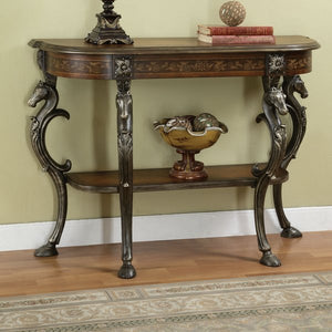 Berkhamstead Wild Horses Console Table by Astoria Grand