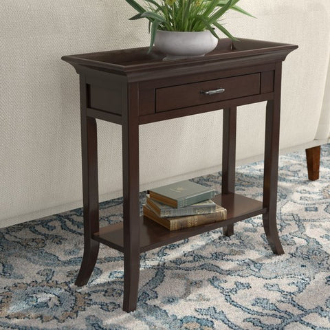 Clermont Tray Edge Console Table by Charlton Home