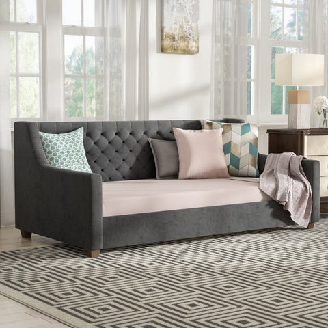 Pihu Upholstered Twin Daybed by Willa Arlo Interiors
