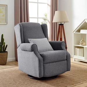 Vallie Swivel Glider by Harriet Bee