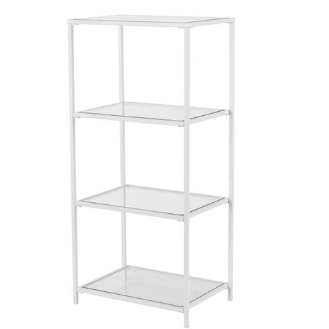 Tannehill 4-Tier Etagere Bookcase by Southern Enterprises