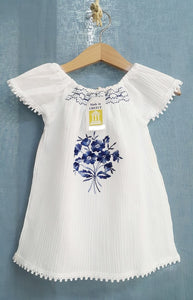 Girls embroidered Dresses
