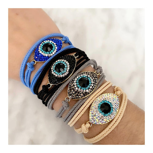 CRYSTAL EVIL EYE WRAP