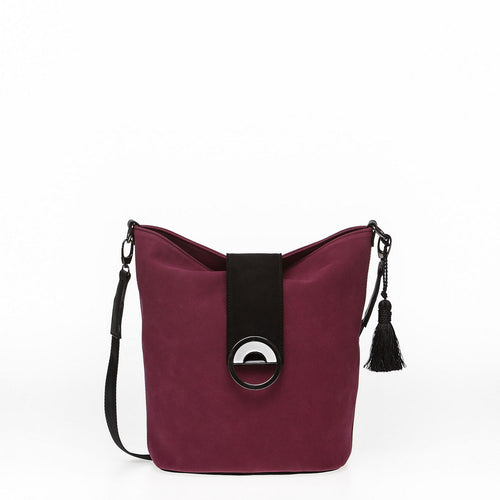 Cherry hobo handbag