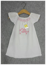 Load image into Gallery viewer, Girls embroidered Dresses