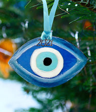 Load image into Gallery viewer, Evil eye ornament