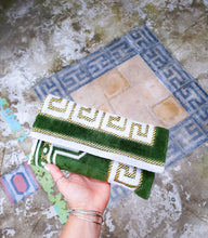 Load image into Gallery viewer, Greek Meander Niki  clutch's