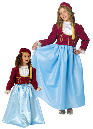 Amalia 3 PC Traditional Costume (Youth)